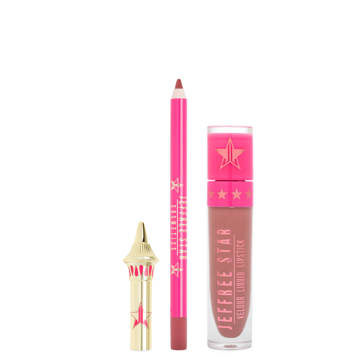 Jeffree Star Cosmetics Velour Lip Kit Gemini alternative view 1.