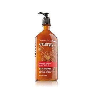 Bath & Body Works Aromatherapy Body Lotion Energy - Orange Ginger