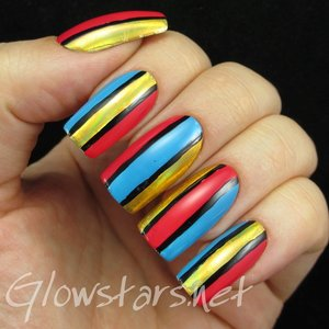 Read the blog post at http://glowstars.net/lacquer-obsession/2015/01/colour-blocking-and-foils/