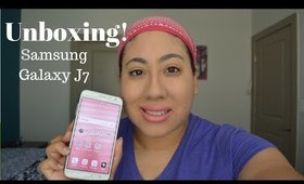 Samsung Galaxy J7 Un boxing