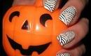 Halloween Mummy Manicure