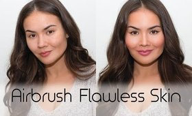 Airbrush Makeup Tutorial: Flawless Skin How To