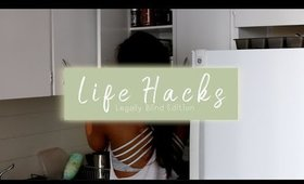6 Simple Life Hacks | Life, Legally Blind ◌ alishainc