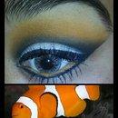 clown fish inspired.