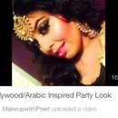 Bollywood Inspired Party Look