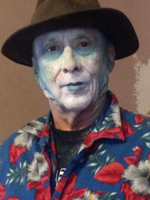 A Halloween makeup for my father