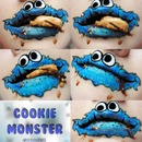 Cookie Monster Om Nom Nom