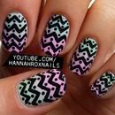 Printed Gradient Nails