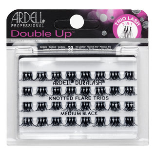 Double Up Trio Individuals Knotted Medium Black