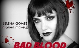 BAD BLOOD Selena Gomez inspired makeup