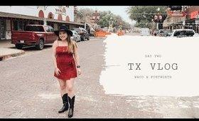 Texas Day II: Waco-- Magnolia Silos & Fortworth Stockyards