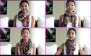 HOW TO: Tie A Scarf (5 Different Ways)