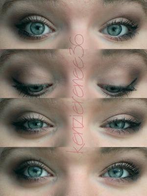 subtle gradient eye