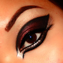 Crimson Graphic Liner