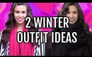 Cute Oufit Ideas For Winter 2014 - Both With Leggings