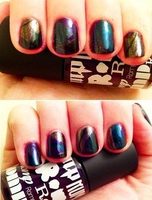 dark marble nails- interview worthy (darker irl, had to brighten)