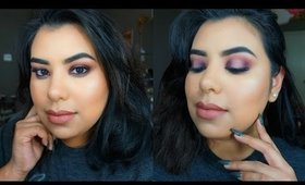 GRWM: Purple Halo Eye Look | NEW MAKEUP
