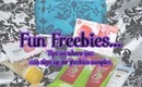 Honey's Fun Freebies - Tips on where you can sign up for freebie samples!
