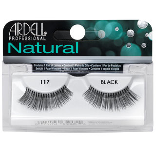 Natural Lashes 117 Black