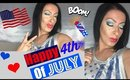 4th Of July Makeup + Outfit