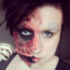 My two face makeup