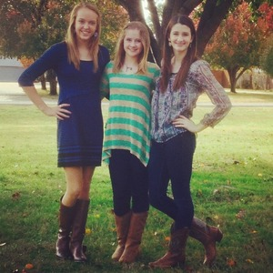 Me and my best friends after church last Sunday❤️
