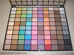 E.L.F. 100 Eyeshadow Palette http://msprettyfulgirl.blogspot.com/2011/06/fotd-red-and-blue-make-purple.html