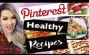Pinterest Healthy Holiday Recipes TESTED | ANNEORSHINE