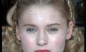 Drew Barrymores Makeup in Ever After by Original Makeup Artist on actress Ginny Gardner