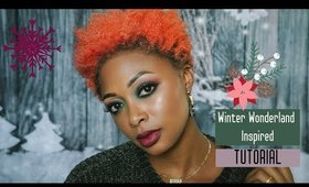 TUTORIAL: Winter Inspired Look with Cutie Pop Candyland Palette