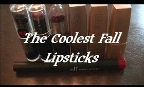 My Top Fall Lipsticks