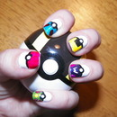 Pokeball Nails!
