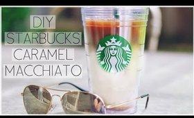 DIY Starbucks Caramel Macchiato ♡