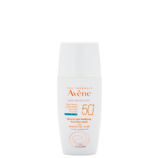 Eau Thermale Avène Mineral Light Mattifying Sunscreen Lotion SPF 50+