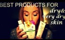 Best Products For Dry/Very Dry Skin! ♡ | rpiercemakeup