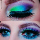 Colorful Make up (with video)