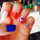 Floral nails 🌸