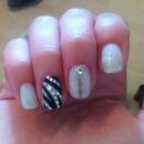 Zebra nails!!