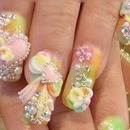 CUTEST IN THE WORLD! Rainbow nails