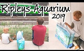 DOMINICS FIRST TRIP TO RIPLEYS AQUARIUM | VLOG 1