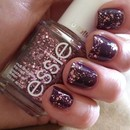 Glitzy Glam Nails