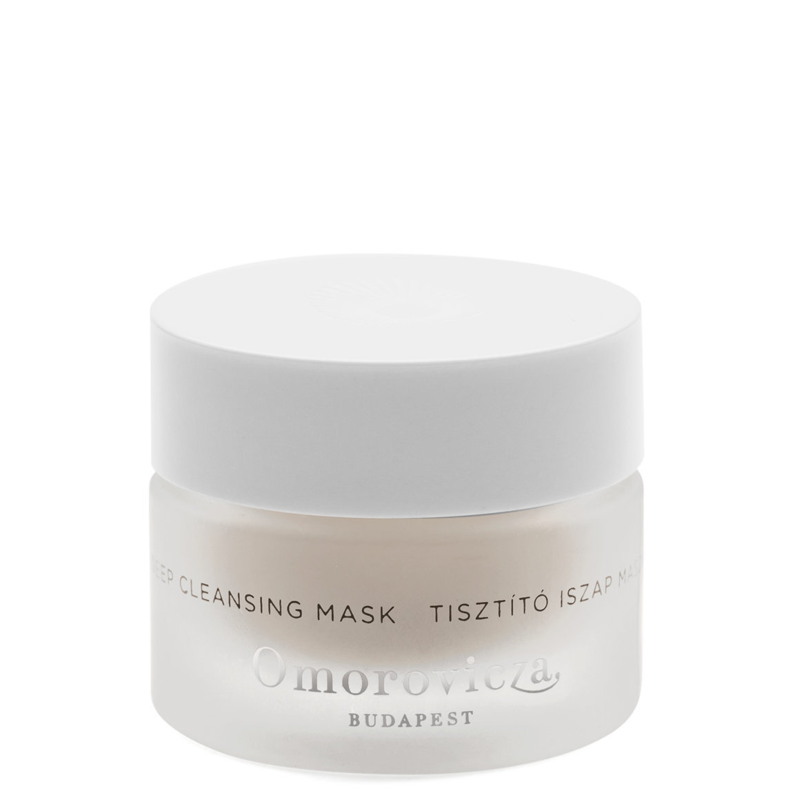 Omorovicza Deep Cleansing Mask 15 ml product swatch.
