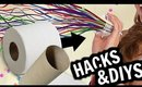 10 New Years Life HACKS & DIYS You Need To Try!!