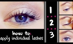 HOW TO: Apply Individual False Lashes