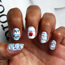 Back To School Nail Art Decals