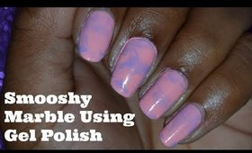 Smooshy Marble Nail Art Tutorial using Gel Polish| MelodySusie Plus Giveaway!