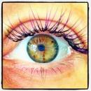 Purple Individual Eyelash Extensions