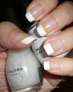 NOTW French Tips  makupfanatic27.blogspot.com