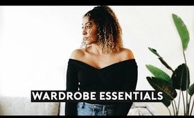WARDROBE ESSENTIALS 2019 (Revolve) | Nastazsa