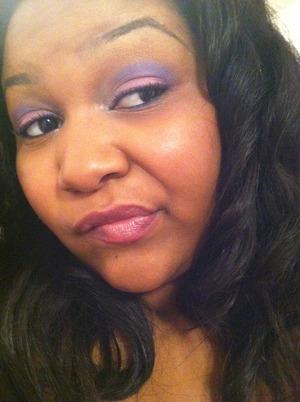Pink and purple pixy eye